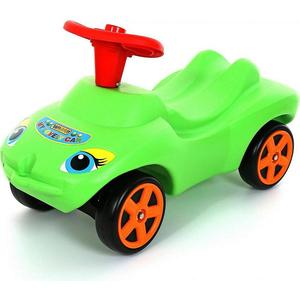 Wader 44617 Каталка Мой любимый автомобиль зеленая со звуковым сигналом машины wader автомобиль констрак полиция