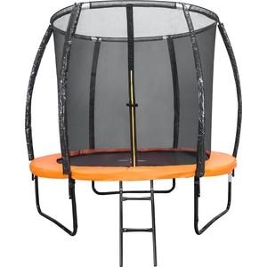 Батут внутренняя сетка, лестница DFC Trampoline Kengoo 8FT-TR-E-BAS цена