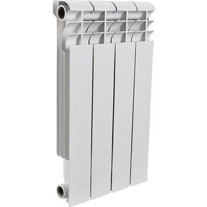 Радиатор отопления ROMMER Profi 500 алюминиевый 4 секции (AL500-80-80-100) алюминиевый радиатор sti 500 80 4 секции