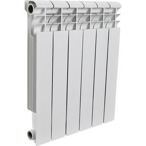 цены  Радиатор отопления ROMMER Profi 500 алюминиевый 6 секций (AL500-80-80-100)