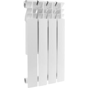 Радиатор отопления ROMMER Profi BM 500 биметаллический 4 секции (BI500-80-80-150) радиатор отопления rommer optima bm 500 биметаллический 8 секций