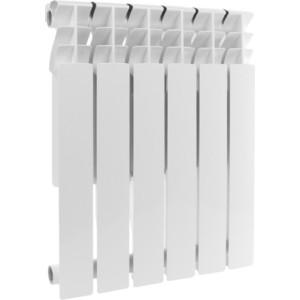 Радиатор отопления ROMMER Profi BM 500 биметаллический 6 секций (BI500-80-80-150) радиатор отопления rommer optima bm 500 биметаллический 8 секций