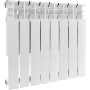 Радиатор отопления ROMMER Profi BM 500 биметаллический 8 секций (BI500-80-80-150) радиатор отопления rommer optima bm 500 биметаллический 8 секций