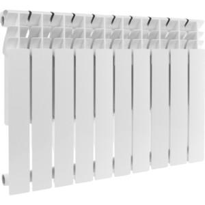 Радиатор отопления ROMMER Profi BM 500 биметаллический 10 секций (BI500-80-80-150) радиатор отопления rommer optima bm 500 биметаллический 8 секций