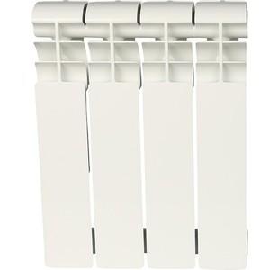 Радиатор отопления ROMMER Profi BM 350 биметаллический 4 секции (BI350-80-80-130) радиатор отопления rommer optima bm 500 биметаллический 8 секций