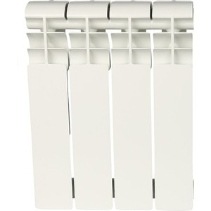 Радиатор отопления ROMMER Profi BM 350 биметаллический 4 секции (BI350-80-80-130) цена и фото