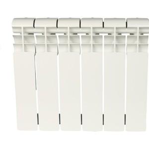 Радиатор отопления ROMMER Profi BM 350 биметаллический 6 секций (BI350-80-80-130)  радиатор tenrad bm 350 80 12 секций