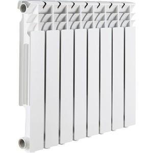 Радиатор отопления ROMMER Optima 500 алюминиевый 8 секций радиатор отопления алюминиевый halsen 350 80 12