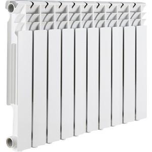 Радиатор отопления ROMMER Optima 500 алюминиевый 10 секций радиатор отопления rommer optima bm 500 биметаллический 8 секций