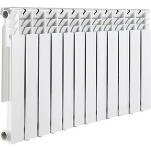 Радиатор отопления ROMMER Optima 500 алюминиевый 12 секций радиатор отопления алюминиевый halsen 350 80 12