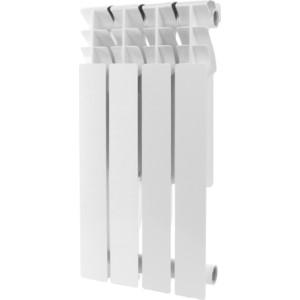 Радиатор отопления ROMMER Plus 500 алюминиевый 4 секций радиатор отопления rommer optima bm 500 биметаллический 8 секций