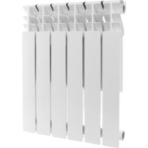 цены  Радиатор отопления ROMMER Plus 500 алюминиевый 6 секций