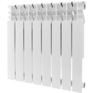 Радиатор отопления ROMMER Plus 500 алюминиевый 8 секций радиатор отопления rommer optima bm 500 биметаллический 8 секций