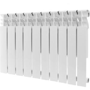 Радиатор отопления ROMMER Plus 500 алюминиевый 10 секций радиатор отопления rommer optima bm 500 биметаллический 8 секций