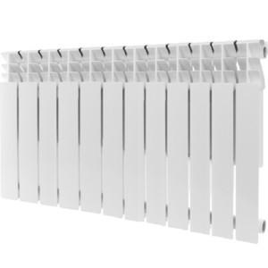 Радиатор отопления ROMMER Plus 500 алюминиевый 12 секций радиатор отопления global алюминиевые vox r 500 12 секций