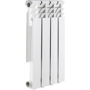 Радиатор отопления ROMMER Optima BM 500 биметаллический 4 секций радиатор отопления rommer optima bm 500 биметаллический 8 секций
