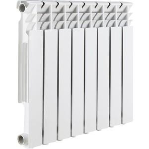 Радиатор отопления ROMMER Optima BM 500 биметаллический 8 секций радиатор отопления rommer optima bm 500 биметаллический 8 секций