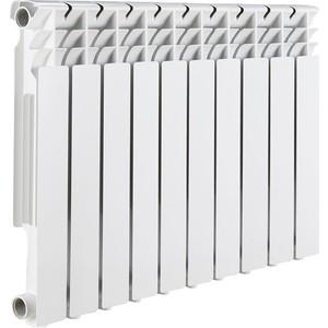Радиатор отопления ROMMER Optima BM 500 биметаллический 10 секций радиатор отопления rommer optima bm 500 биметаллический 8 секций