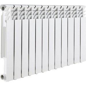 Радиатор отопления ROMMER Optima BM 500 биметаллический 12 секций raditall g2 bimetallo 500 12 секций