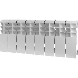 Радиатор отопления ROMMER Plus 200 алюминиевый 8 секций радиатор отопления rommer optima bm 500 биметаллический 8 секций