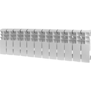 Радиатор отопления ROMMER Plus 200 алюминиевый 12 секций  радиатор алюминиевый roomer plus 8 секций 200 96