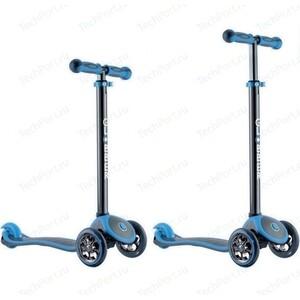 Самокат 3-х колесный Y-Scoo RT GLOBBER My free TITANIUM neon blue с блокировкой колес free shipping 20pcs az1084s 3 3e1 az1084 to263 3