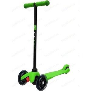 Самокат 3-х колесный Y-Scoo mini A-5 Shine цв. green со светящими колесами чехол activ 3 5 5 5 inch armband universal green 73678