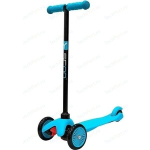 Самокат 3-х колесный Y-Scoo mini A-5 Simple цв. blue с цветными колесами usb 2 0 mini 5 pin to a male power y cable 62 cm