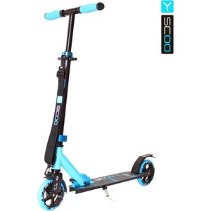 Самокат 2-х колесный Y-Scoo RT 145 CITY Hong Kong NEW Technology blue самокат tech team city bird black light blue