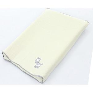 Простынь Ceba Baby на резинке на пеленальный матрасик 50x80 см Zebra grey W-821-002-260  цена и фото