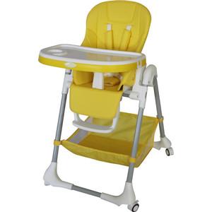 где купить Стульчик для кормления Aricare 1014-B Yellow дешево