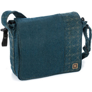 Фото - Сумка для коляски Moon Messenger Bag Jeans (994) mva mulifuctional men bag genuine leather shoulder bags small ipad flap solid men s crossbody messenger