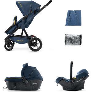 Коляска 3 в 1 Concord Wanderer Travel Set (3 в 1) Denim Blue 2015