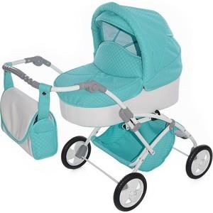 Кукольная коляска Tako Laret mini 02 бирюзовый