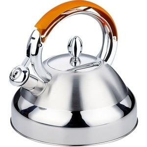 Чайник 3 л Kelli KL-4302 оранжевый кофеварка kelli kl 1444 белый