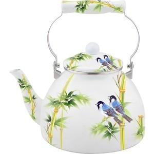 Чайник эмалированный 4 л Kelli (KL-4417)