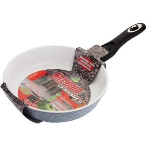 Сковорода со съемной ручкой d 24 см Катюша Гранит (Кт-3624) сковорода для блинов d 26 см катюша кт 9226