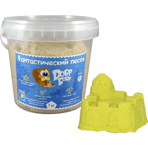 Фотография товара 1Toy Фантастический песок, Жёлтый 1 кг (Т10262) (630545)