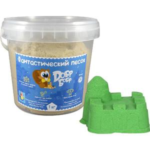 Фотография товара 1Toy Фантастический песок, Зелёный 1 кг (Т10265) (630548)