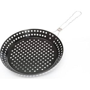 Сковорода d 24 см для приготовления блюд на углях Gipfel Akri (2202) сковорода порционная gipfel diletto чугунная с подставкой 24 x 17 5 х 2 см