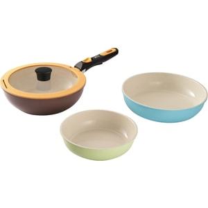 Набор сковородок 5 предметов Gipfel Trigemini (2481) набор сковородок gipfel scelta 2313