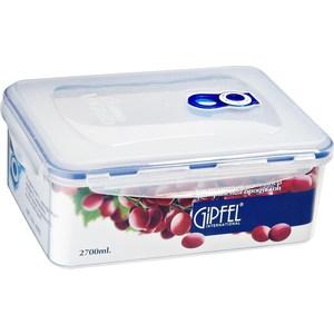 Контейнер для продуктов 2.7 л Gipfel Fresh On (4805)