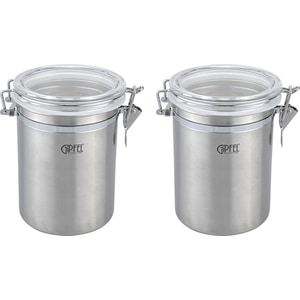 Набор из 2 банок для сыпучих 0.7 л Gipfel (5583) gipfel чайник для кипячения воды visit 2 7 л