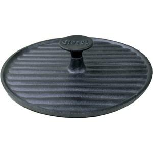 Крышка-пресс для гриля d 24см Gipfel Diletto (2241) сковорода порционная gipfel diletto чугунная с подставкой 24 x 17 5 х 2 см