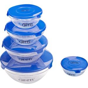 Набор контейнеров для СВЧ 5 предметов Gipfel Camelia (6208) mantra 6208