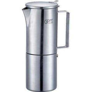 Гейзерная кофеварка 0.3 л/ 6 чашек Gipfel Wenus (5320) гейзерная кофеварка 300мл на 6 чашек gipfel iris 5326