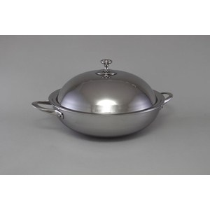 Сковорода-вок d 32 см с крышкой Stahlberg Deluxe (1257-S) сковорода d 28 см stahlberg 2316 s