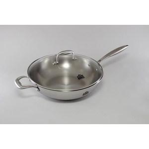Сковорода-вок d 32 см с крышкой Stahlberg Kromwell (1613-S) сковорода d 20 см stahlberg 2526 s