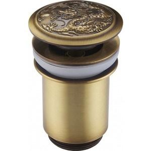 Донный клапан ZorG Antic для раковины бронза (AZR 1 BR)