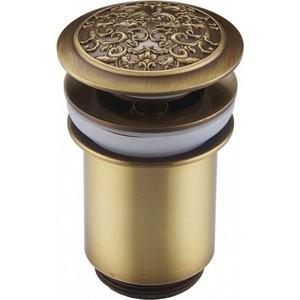 Донный клапан ZorG Antic для раковины бронза (AZR 2 BR)